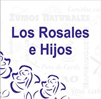 LOGO CAFETERÍA LOS ROSALES Asociación Zona Mesa y López