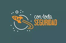 LOGO CON TODA SEGURIDAD Asociación Zona Comercial Mesa y López