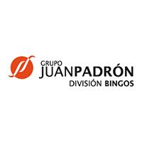 Logo Juán Padrón - Bingos - Asociación Zona Mesa y López