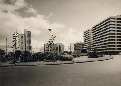 Plaza de España años 60 en Zona Mesa y López