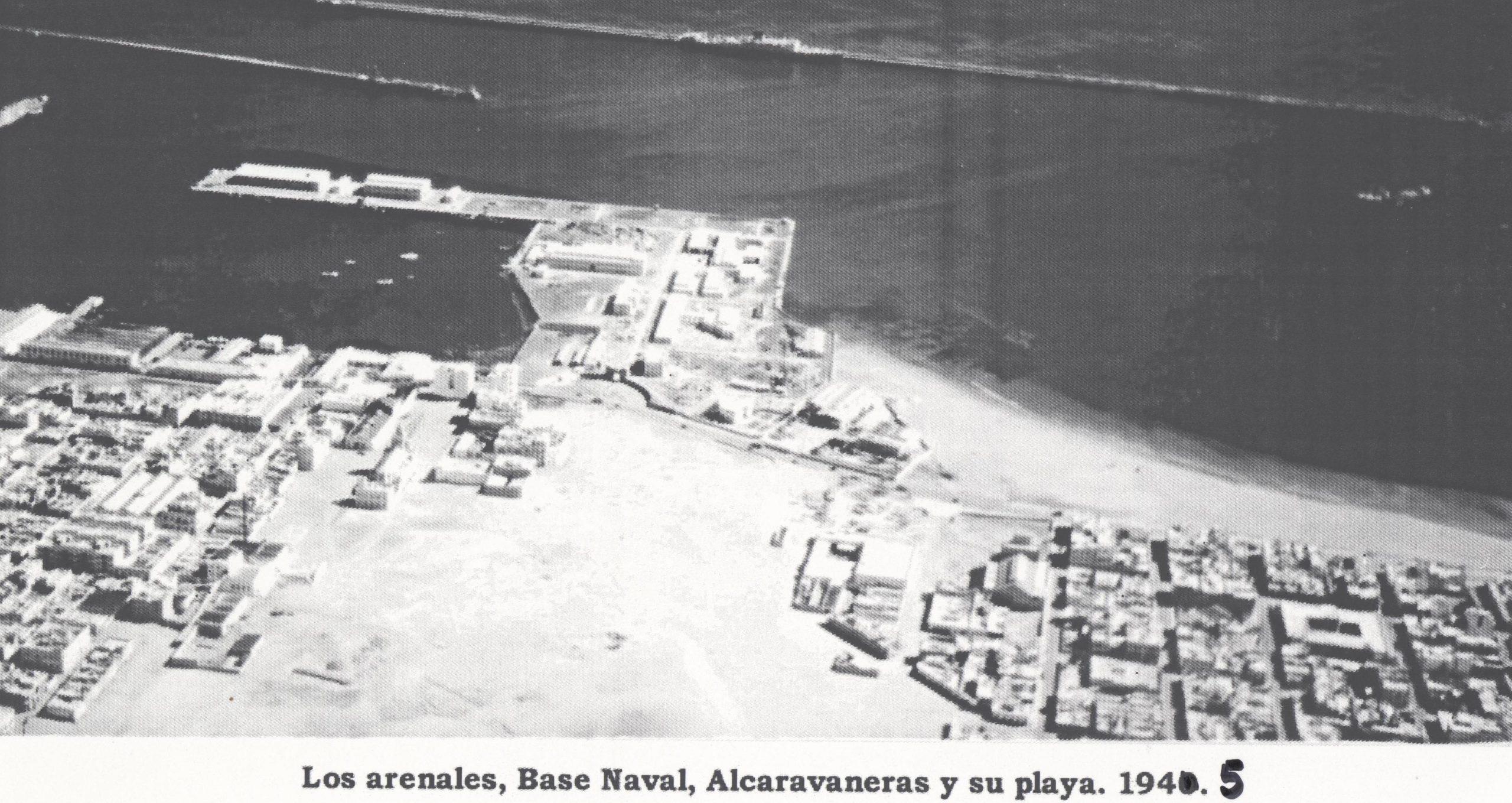 Base Naval y Alcaravaneras en Zona Mesa y López
