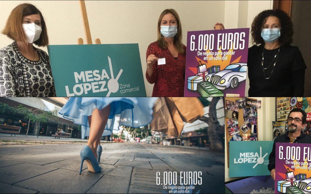Zona Mesa y López comienza el año 2021 obsequiando una tarjeta regalo por valor de 6.000 €