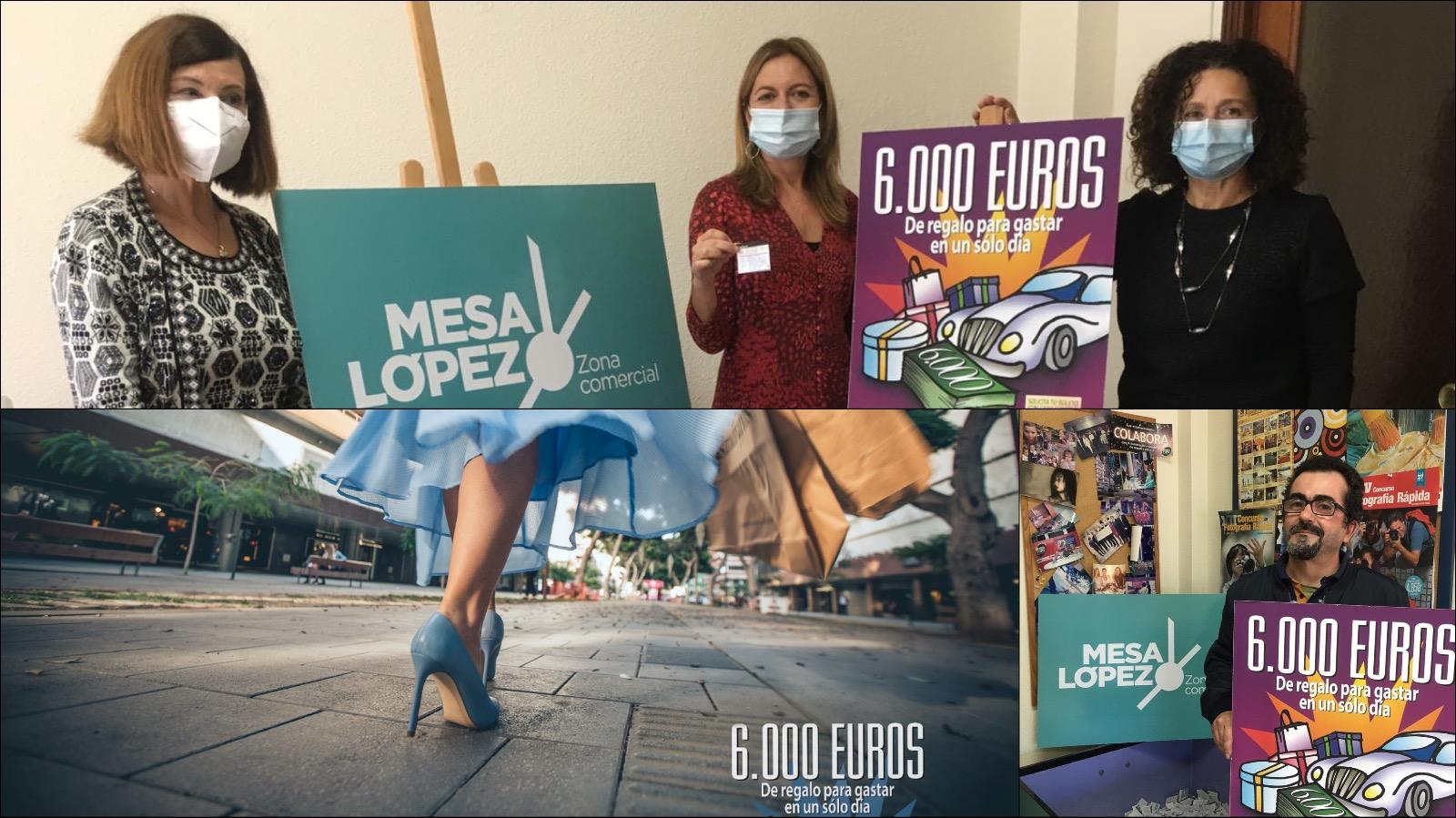premio 6000€ en Zona Mesa y López