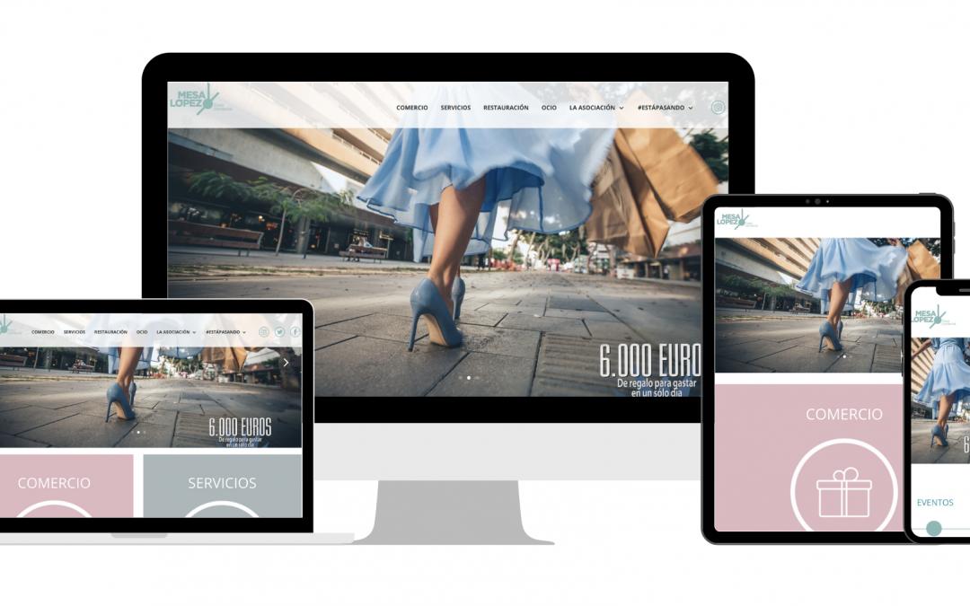 ¡Estrenamos nueva web en Zona Mesa y López!
