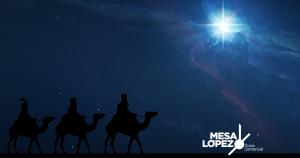Reyes magos en Zona Mesa y López