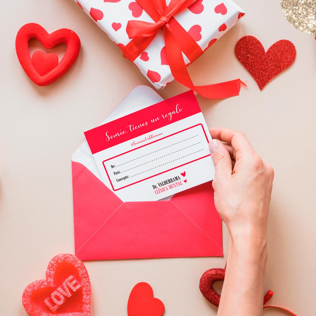 Oferta San Valentín Clínica Dental Valderrama