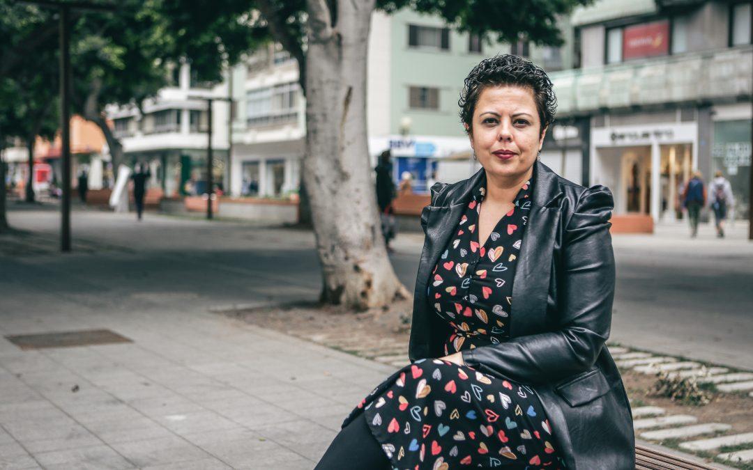 Minerva Alonso Santana. Consejera de Industria, Comercio, Artesanía y Vivienda.