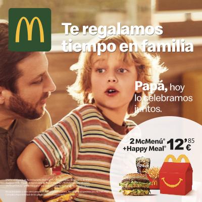 Día del Padre en McDonald's