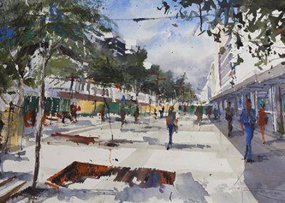 Tercer Premio Concurso Pintura Rápida