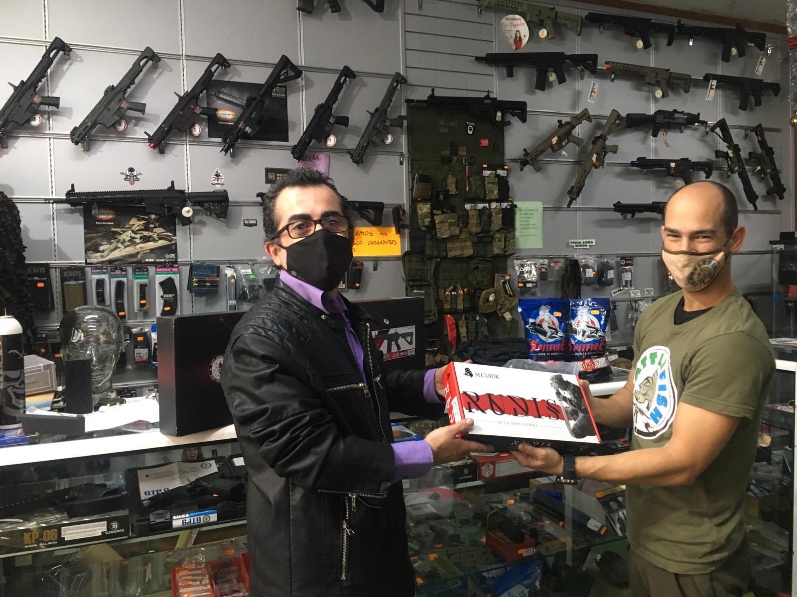 Battlefish-Pesca & Airsoft - sorteo 6.000 € 2021 en Zona Mesa y López
