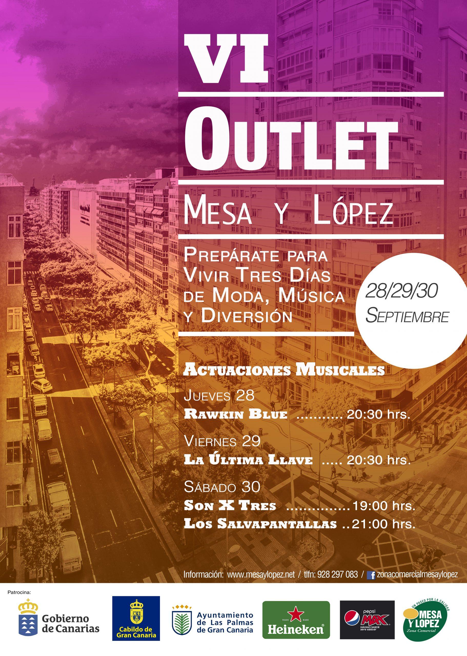 VI Outlet Zona Mesa y López