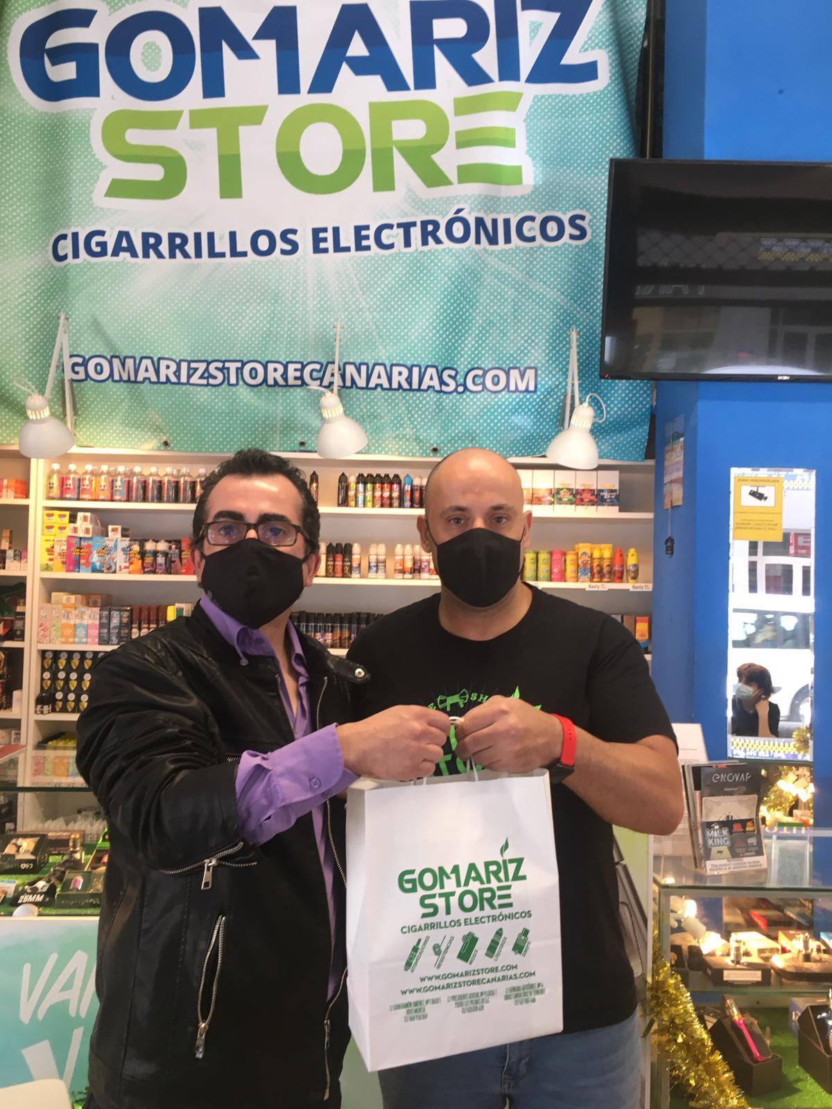 Gomarizstore Canarias - Vape Shop - sorteo 6.000 € 2021 en Zona Mesa y López