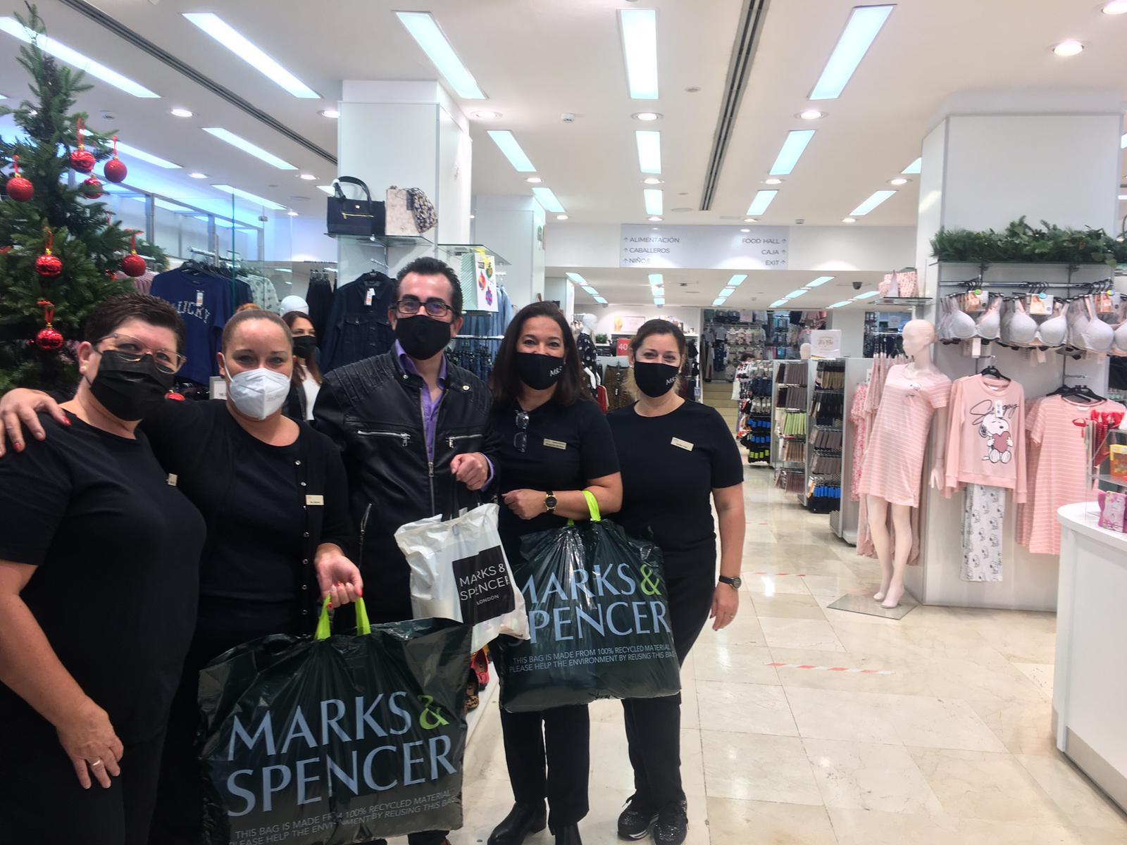 Marks & Spencer - sorteo 6.000 € 2021 en Zona Mesa y López