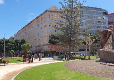 Zona Mesa y López inaugura una nueva Plaza de España 2