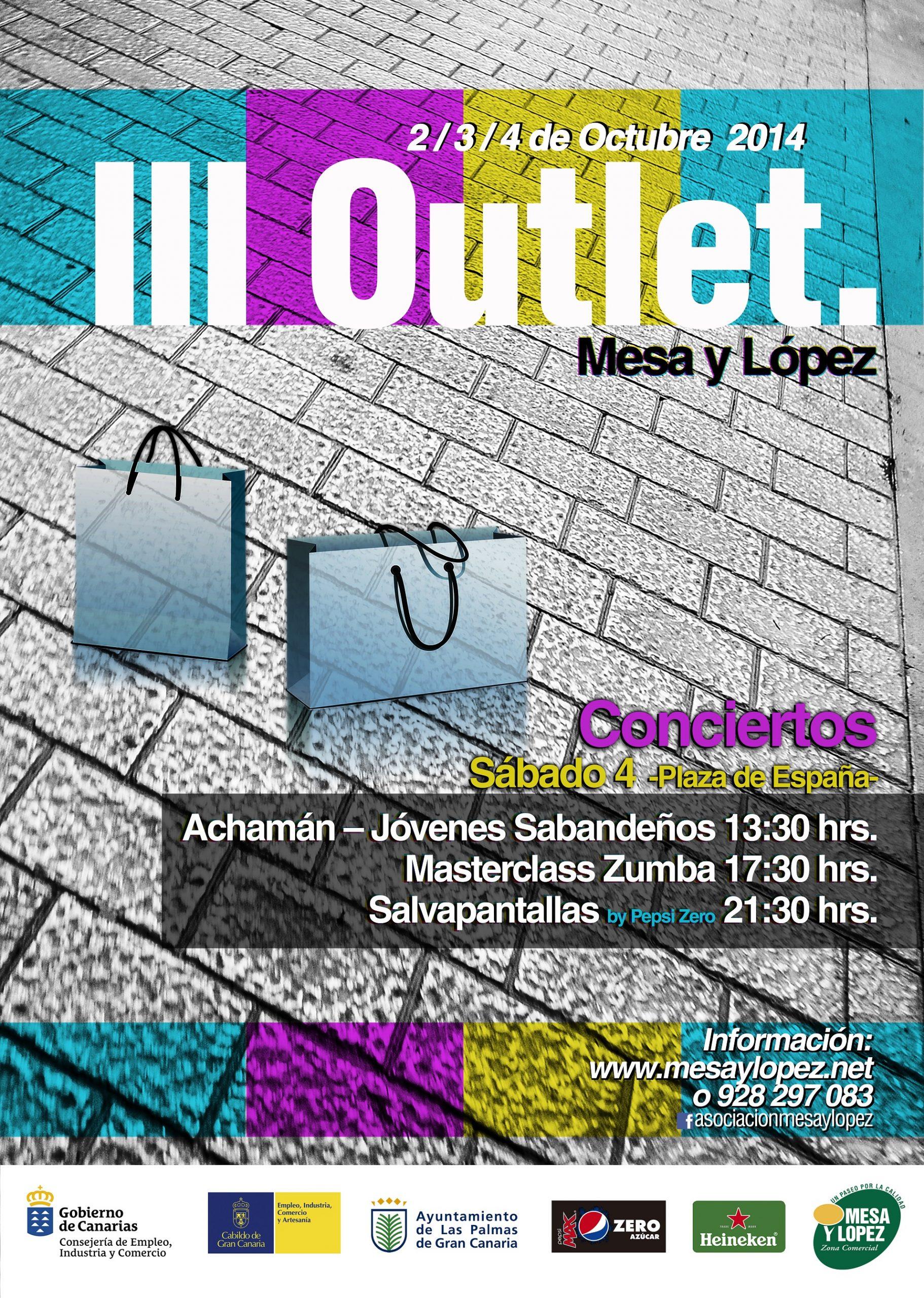 III Outlet Zona Mesa y López