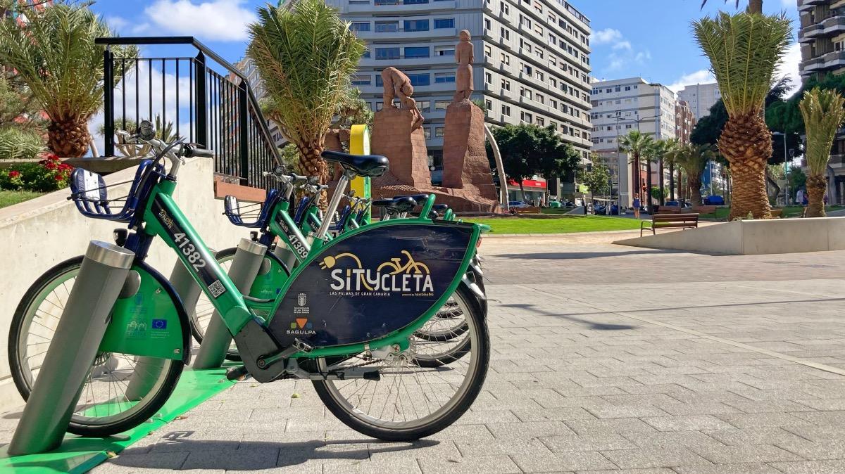 Nueva estación eléctrica de Sítycleta en la Plaza de España