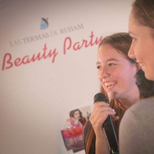 Beauty Party en Las Termas de Ruham Zona Mesa y López