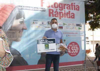 Premio Mc Donald's en el concurso de fotografía Las Palmas de Gran Canaria