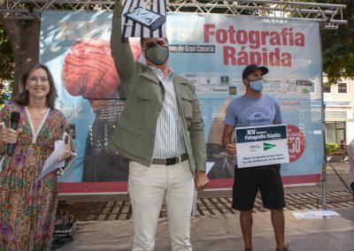 Premio El corte Inglés en el concurso de fotografía Las Palmas de Gran Canaria