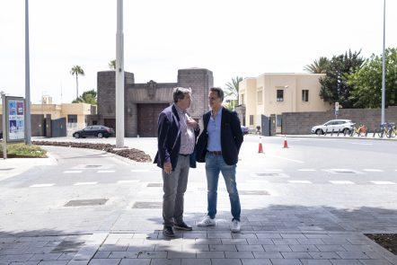 Javier Doreste y Francisco González