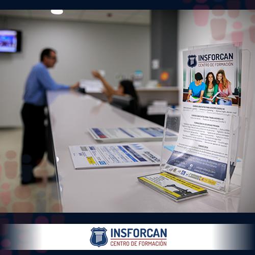 Recepción de Insforcan, referente de Centros de Formación en Canarias