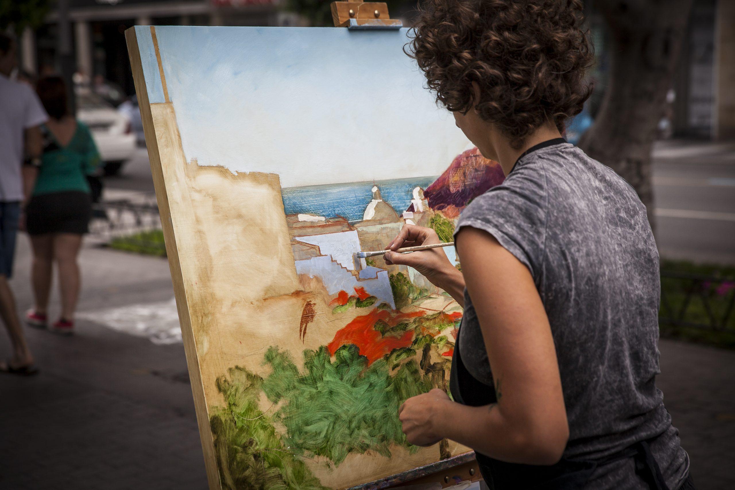 XXV concurdo de pintura rápida, 2021 en Zona Mesa y López