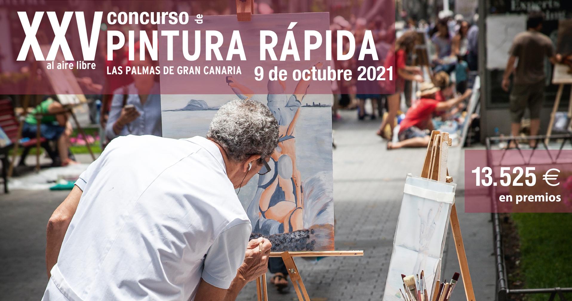 XXV concurso de pintura rápida Zona Mesa y López 2021 1920x1010px