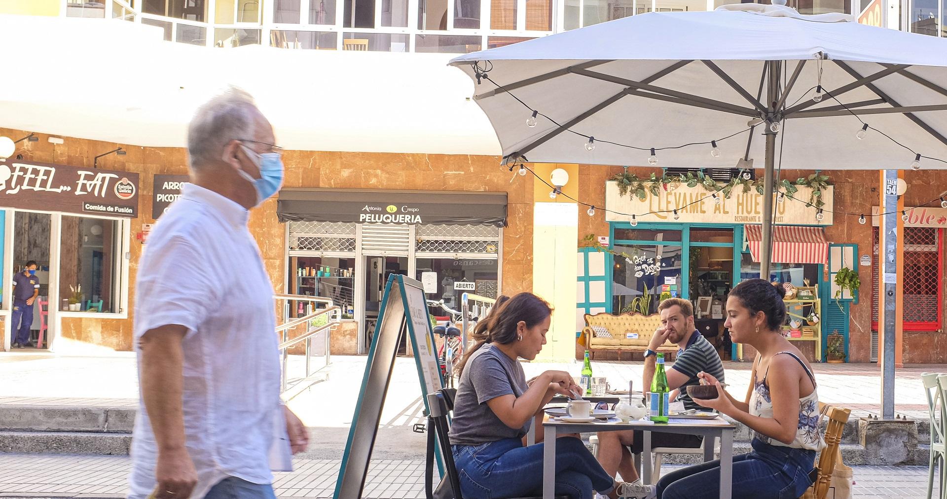 Medidas contra la COVID en Nivel 2 en Las Palmas de Gran Canaria
