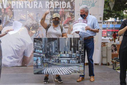 Raquel García Hofmann ganadora XXV Concurso de Pintura Rápida al Aire Libre