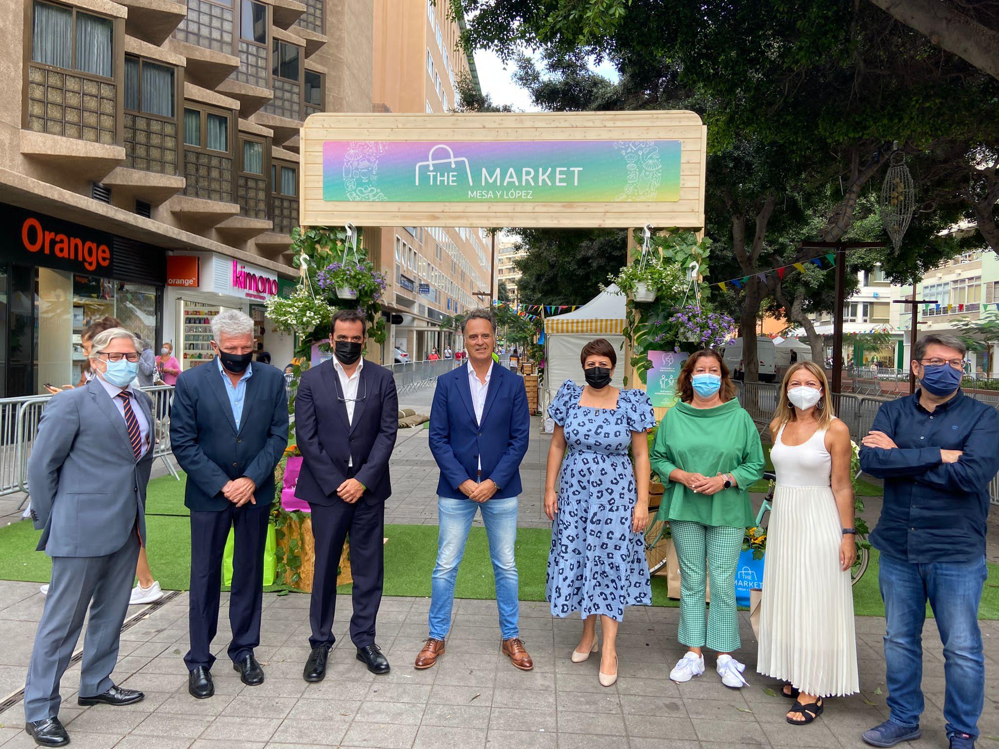 Rueda de prensa The Market – Mesa y López
