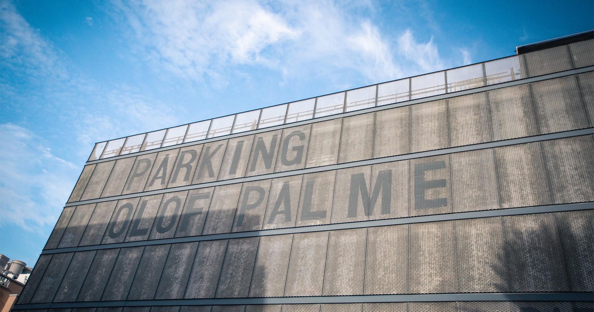 Foto de Parking Olof Palme en Zona Mesa y López